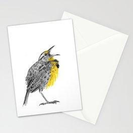 Eastern meadowlark Stationery Cards