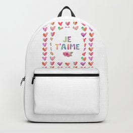 Je T'aime Backpack