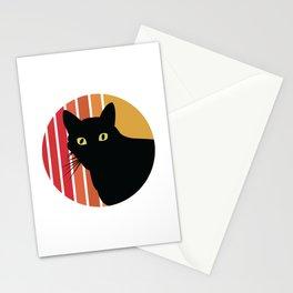 Retro Vintage Cat Miau Gift Stationery Cards