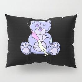 Pastel goth teddy bear japanese anime kawaii menhera Pillow Sham