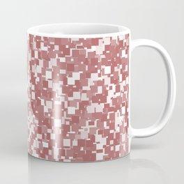 Dusty Cedar Pixels Coffee Mug