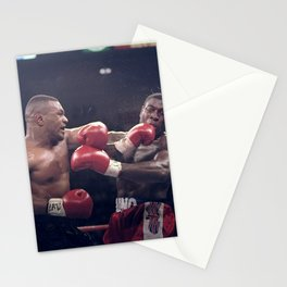 #Ponte_Bien@ Instagram Society6 Online Photography - Iron Mike Tyson - Pro Boxing  - BLM JJ7 Stationery Cards