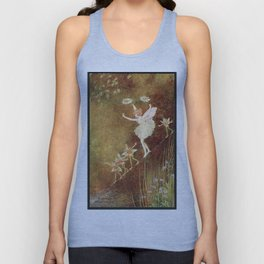 """It Was Difficult at First"" by Ida Rentoul Outhwaite (1916) Unisex Tank Top"
