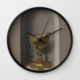 Hans Memling - The Chalice of St. John the Evangelist (Reversed) Wall Clock