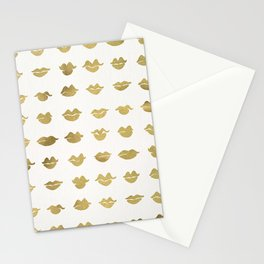 Kiss Collection – Gold Ink Stationery Cards