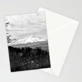 Mount Shasta, and neighboring mountain Shastina, Siskiyou County, ca.1900-1940 Stationery Cards