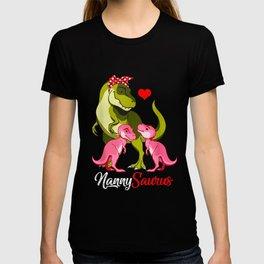 Nannysaurus rex Nanny Saurus Dinosaur T-shirt
