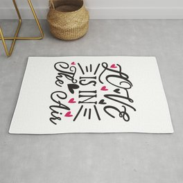 I Love You A Sloth - Funny Love humor - Cute typography - Lovely and romantic quotes illustration Rug
