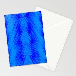 stripes wave pattern 8v1 yoi Stationery Cards