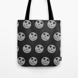 Halloween Trendy, Modern Skulls Pattern Tote Bag