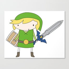 Link - Wind Waker Canvas Print