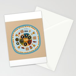 Passover Table Stationery Cards