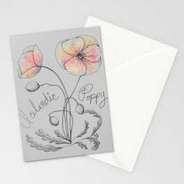 Icelandic Poppy Stationery Cards