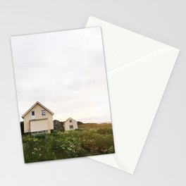 Summer houses Stationery Cards