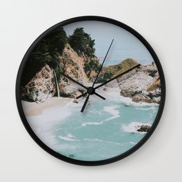 big sur / california Wall Clock
