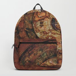 Sao Feng Replica Map Pirates of the Caribbean Backpack