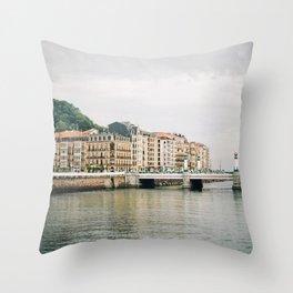 San Sebastian, Spain Throw Pillow