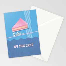 Cake by the Lake Stationery Cards