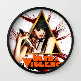 Ultraviolence Wall Clock