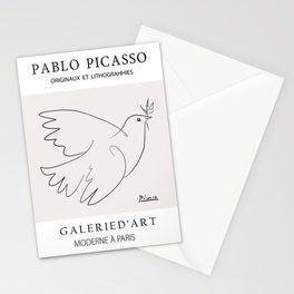 Picasso - Bird of peace Stationery Cards