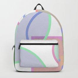 Geometric shape pattern Backpack