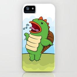 Humphrey the Deranged Platypus Monster iPhone Case