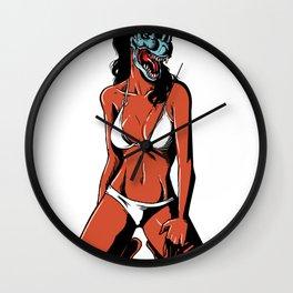 Dilophobabe Wall Clock
