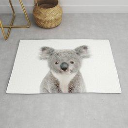 Baby Koala Portrait Rug