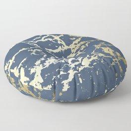 Kintsugi Ceramic Gold II Floor Pillow