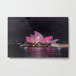 Vivid Sydney 2017_11 - Sydney Opera House Metal Print