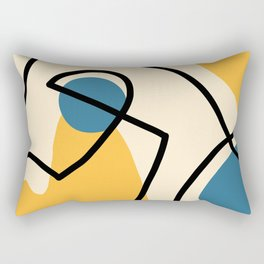 Shapes & Lines I Rectangular Pillow