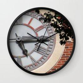 Keeping Time at University Hall Wall Clock