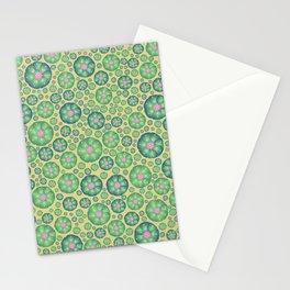Peyote cactus plant pattern illustration Stationery Cards