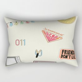 Welcome to Hawkins 2 Rectangular Pillow