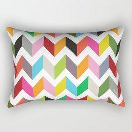 Ziggy chevron Rectangular Pillow