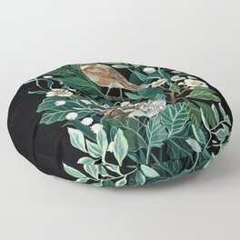 Lily of The Valley Floor Pillow