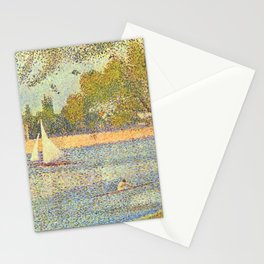 "Georges Seurat ""The Seine at La Grande Jatte"" Stationery Cards"