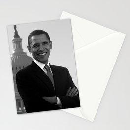 Barack Obama Outside The Capitol Building - 2005 Stationery Cards