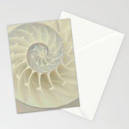 Nautilus Shell Stationery Cards