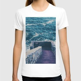 The 40 Steps - Cliff Walk - Newport, Rhode Island T-shirt