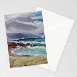 Maui, Windy day on Paia beach Stationery Cards