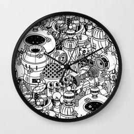Dark Matter Space Machine Wall Clock