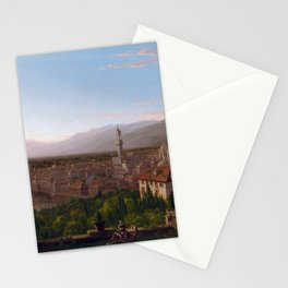 Thomas Cole View of Florence Stationery Cards