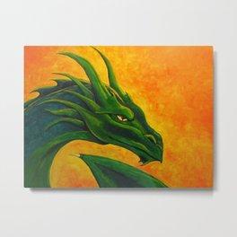 Sovereign Dragon Metal Print