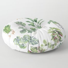 Potted Plants Collection 1 Floor Pillow