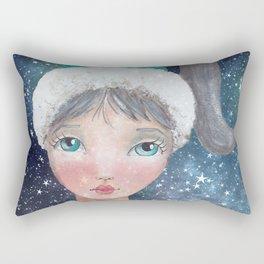 Girl of the Universe Rectangular Pillow