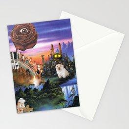 Meditación del Perrito Triste Stationery Cards