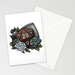 Paladin Class D20 - Tabletop Gaming Dice Stationery Cards