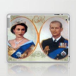 Queen Elizabeth 11 & Prince Philip in 1952 Laptop & iPad Skin