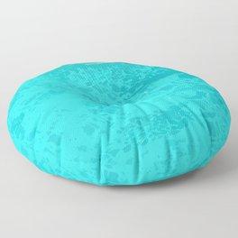 Ophelia Forgot Her Snorkel Again Floor Pillow